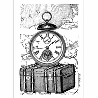 """LaBlanche Silicone Stamp 3""""x4.5"""" - Traveling Collection"""