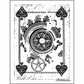 """LaBlanche Silicone Stamp 3""""x4"""" - Card Back"""