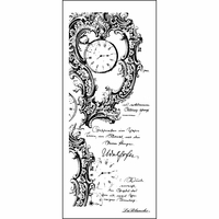 """LaBlanche Silicone Stamp 5.5""""x2.5"""" - Timeless Writing"""