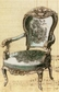LaBlanche Silicone Stamp - Antique Chair