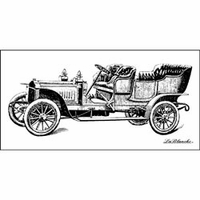 LaBlanche Silicone Stamp - Oldtimer