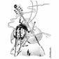 LaBlanche Silicone Stamp - Playing Cello