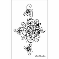 Lablanche Silicone Stamp - Stately Swirl