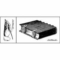 LaBlanche Silicone Stamps - Book & Hand