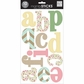 mambiSTICKS Large Alphabet Stickers - Sweet Patterns/Lowercase