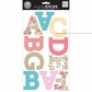 mambiSTICKS Large Alphabet Stickers - Spring Uppercase