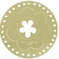 "Lasting Impressions Brass Embossing Template 4""x6"" - Flower & Circle Frame"