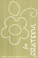 "Lasting Impressions Brass Embossing Template 4""x6"" - Large Dot Flower"