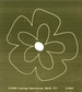 """Lasting Impressions Brass Embossing Template 4""""x6"""" - Layered Flower"""