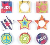 Lauderdale Small Details Decorative Stickers Faux Fasteners