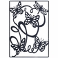 Lin & Lene Cut & Emboss Die - Butterfly Background