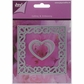 "Lin & Lene Cut & Emboss Dies - Square/Flower & Heart 4""x4"""