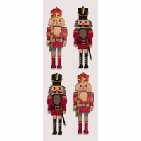 Little B Mini Stickers - Classic Nutcrackers