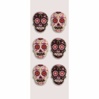 Little B Mini Stickers - Sugar Skulls