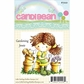 Little Darlings Candibean Rubber Stamp - Gardening Jessie