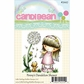Little Darlings Candibean Rubber Stamp - Penny's Dandelion Shower