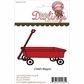 Little Darlings Unmounted Rubber Stamp - Child's Wagon