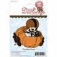 Little Darlings Unmounted Rubber Stamp - Pumpkin Races