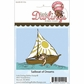 Little Darlings Unmounted Rubber Stamp - Sailboat of Dreams