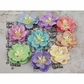 "Lucido Mulberry Paper Flowers 1.5"" - 71726"