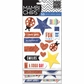 Mambi Chipboard Stickers - Happy Day