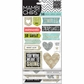 Mambi Chipboard Stickers - Love This