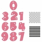 Marianne Design Collectables Dies w/Stamps - Party Numbers
