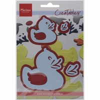 "Marianne Design Creatables Dies - Rubber Ducks 1.625"" & 2.625"""