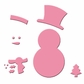 Marianne Designs Collectables Dies - Snowman