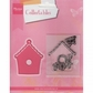 Marianne Designs Collectables Dies w/Stamps - Birdhouse/Flower & Butterfly