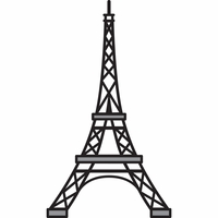 Marianne Designs Craftable Die - Eiffel Tower