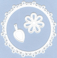 Marianne Designs Craftables Die - Circle & Flower Stitch