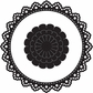 Marianne Designs Craftables Die - Lace Circle & Flower