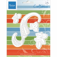 Marianne Designs Craftables Die - Tiny's Swirls & Leaves 3