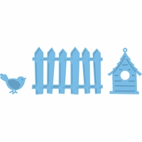 Marianne Designs Creatables Die - Fence, Bird & House