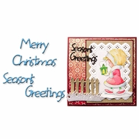 Marianne Designs Creatables Die - Merry Christmas/Season's Greetings