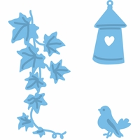 Marianne Designs Creatables Die - Vine, Bird & House