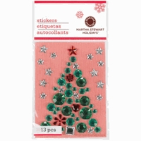 Martha Stewart Christmas Stickers