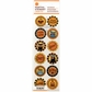 Martha Stewart Halloween Stickers - Animal Masquerade Icon