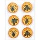 Martha Stewart Halloween Stickers - Gothic Manor Insect