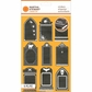 Martha Stewart Halloween Stickers - Tombs