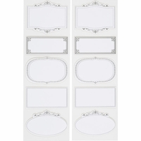 Martha Stewart Stickers - Ornate Frame Labels