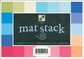 "Match Maker Cardstock Mat Stacks 4.5"" x 6.5"""