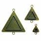 Media Mixage Bezel - Triangles 2, Bronze SMB2003