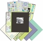 "Mega Scrapbook Kit 8.5""x8.5"" - Black & White"