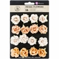 "Melbourne Paper Flowers 1.25"" - Outback"