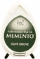 Memento Dew Drop Dye Ink Pads - Olive Grove