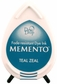 Memento Dew Drop Dye Ink Pads - Teal Zeal