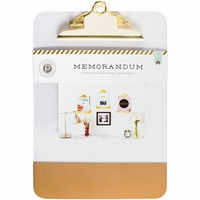 Memorandum Clear Clipboard