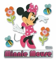 Mickey Mouse Clubhouse 3D Stickers - Minnie Mouse